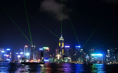 Hong Kong City 3 – Light Show