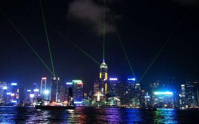 Hong Kong City 3 – Light Show