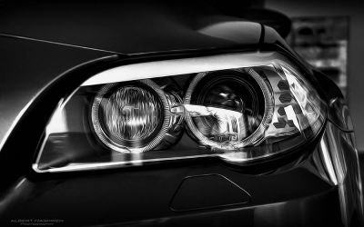 BMW M5 headlight