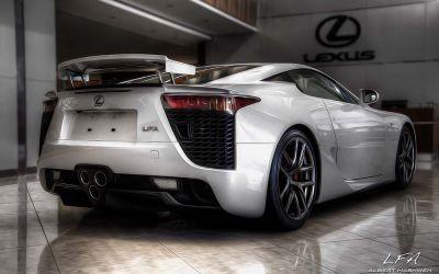 Lexus LFA 8