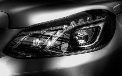 Mercedes E250 2014 headlight