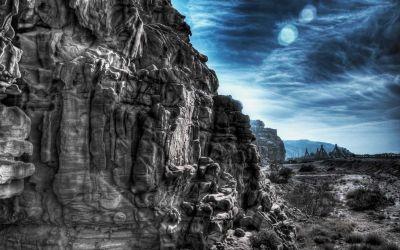 Wadi Al Mujib cliffs