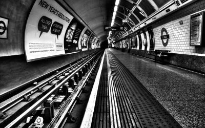 "London Underground 1 : ""Mind The Gap !"""