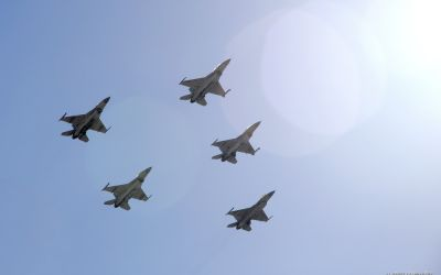May 25th, 2014, Jordan Independence Day     F-16 flyby