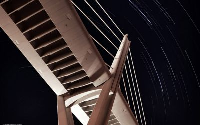 Star Trails @ Abdoun Bridge