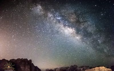 Milky Way in Wadi Rum