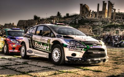 WRC2011 – Jerash start ceremony