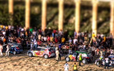 WRC2011 – Jerash start ceremony – Tilt Shift