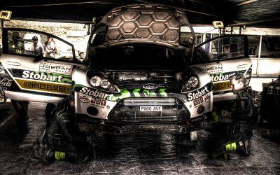 WRC2011 – Service park – Dead Sea