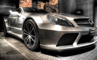 "Mercedes-Benz SL65 AMG ""Black Series"" 2009"