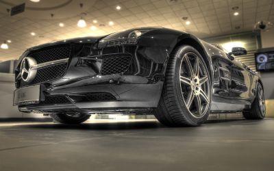 Mercedes SLS 1