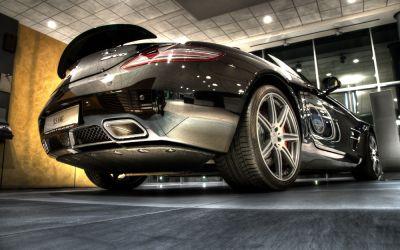 Mercedes SLS 2