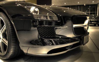 Mercedes SLS 3