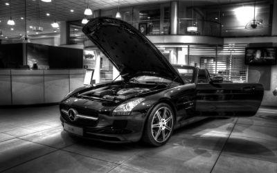 Mercedes SLS 5
