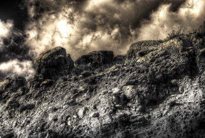 road side rocks