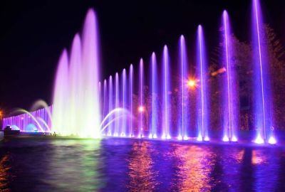SM Mall Fountain 1