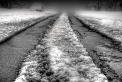19 Dec 2013 : Melting Snow