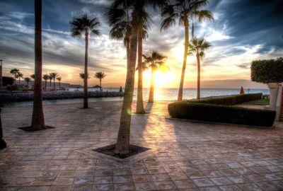 Sun Set at Tala Bay