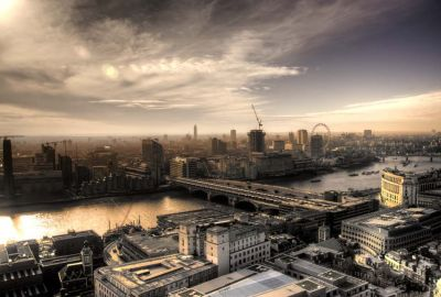 London Skyline from St. Paul's Cathedral 1
