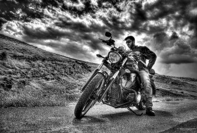 Phil & his bike 2