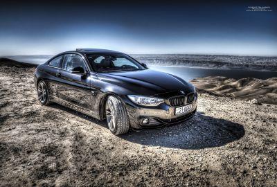 BMW 428i @ Dead Sea 2