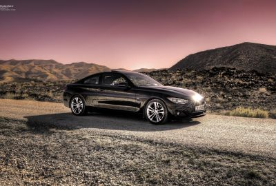 BMW 428i @ Dead Sea 3
