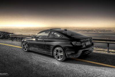 BMW 428i @ Dead Sea 1