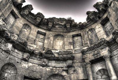 Jerash – The Nymphaeum
