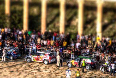 WRC2011 – Jerash start ceremony – Tilt Shift
