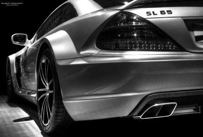 "Mercedes SL65 AMG ""Black Series"""